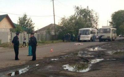 В Кургане автобус насмерть сбил девочку: разыскиваются очевидцы
