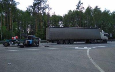 Водитель трактора погиб в ДТП во Владимирской области
