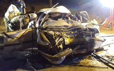 Пять человек погибли в ДТП с грузовиком в Крыму
