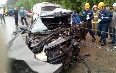 В ДТП в Марий Эл погибли три человека и пострадал 8-месячный ребенок