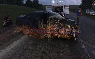 Пассажир Daewoo Nexia погиб в ДТП в Башкирии