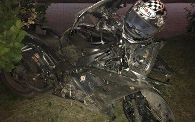 В Челябинске мотоциклист погиб, въехав на скорости в яму