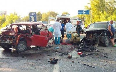 Два человека погибла в ДТП под Красноярском