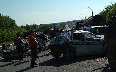 Четыре человека погибли в массовом ДТП в Пензенской области