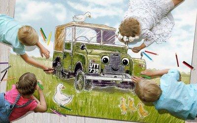 Компания Land Rover объявила детский художественный конкурс