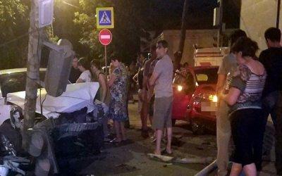 Девушка пострадала в ДТП в Ростове