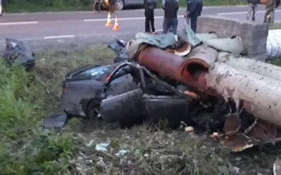 Два человека погибли в ДТП под Хабаровском