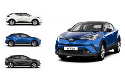 В России официально стартуют продажи новой Toyota C-HR