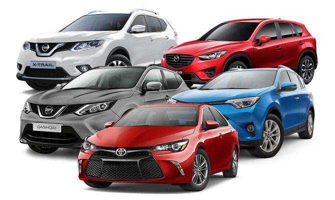Топ-5 популярных в России японских автомобилеи