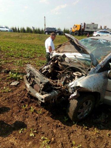 В ДТП в Татарстане погибла женщина (2)