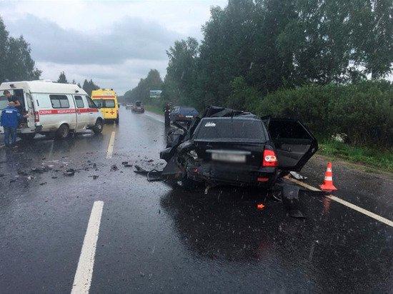 Один человек погиб в ДТП на трассе Пермь – Чусовой