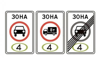 В России ввели запрет на проезд неэкологичных автомобилей, но не успели утвердить знаки