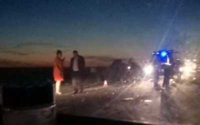 В ДТП с автобусом под Тюменью погиб человек
