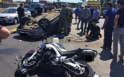 Таксист погиб в ДТП на въезде в Иваново