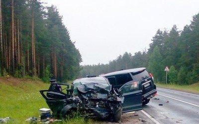 Три человека погибли в ДТП в Архангельской области