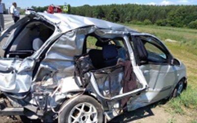 Женщина и двое детей погибли в ДТП в Чувашии