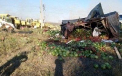 В ДТП с КамАЗом в Медногорске погиб человек
