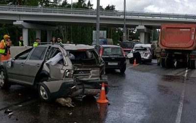 Три человека пострадали в Приозерском районе Ленобласти