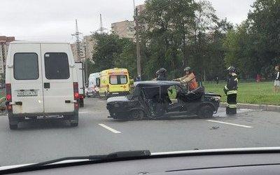 Три человека пострадали в ДТП в Московском районе Петербурга