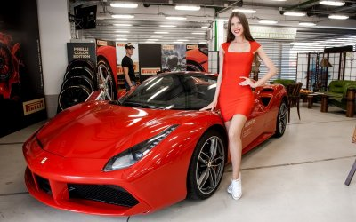 Ferrari АВИЛОН провел трек-дни на Moscow Raceway