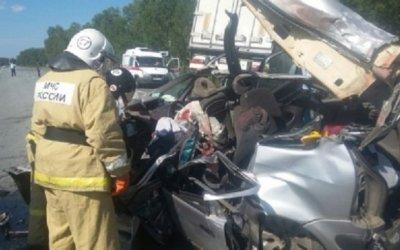 Четыре человека погибли в ДТП на трассе Кемерово-Новосибирск