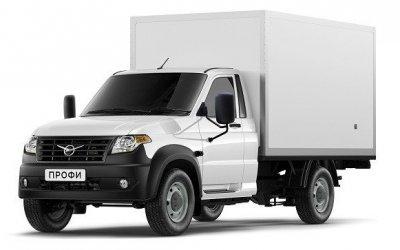 Ульяновский автозавод выпустил промтоварный фургон набазе УАЗ «Профи»