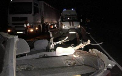 Два человека погибли в ночном ДТП в Воскресенском районе Саратовской области