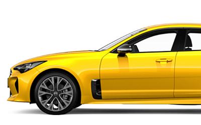 KIA пообещала пожизненную гарантию всем владельцам желтых KIA Stinger