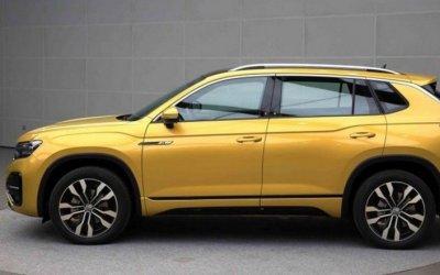 Новый кроссовер Volkswagen Tayron рассекретили в Сети