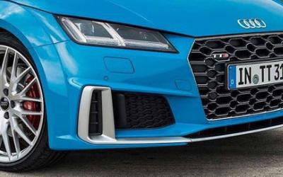 Фото новой  Audi TTS Coupe появились в Сети задолго до назначенной премьеры