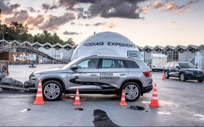 Мультимедийный тест-драйв KODIAQ EXPERIENCE вместе с АВТОРУСЬ