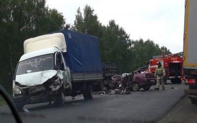 Два человека погибли в ДТП на М-7 в Чувашии