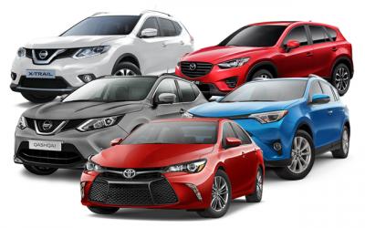 Топ-5 популярных в России японских автомобилей
