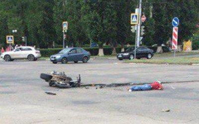 Мотоциклист погиб в ДТП в Балакове
