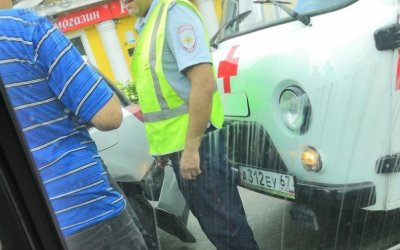 В Смоленске «скорая помощь» попала в ДТП