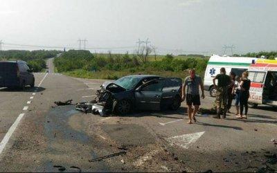 Три человека погибли в ДТП в Донецкой области