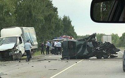 Водитель ВАЗа погиб в ДТП в Захаровском районе