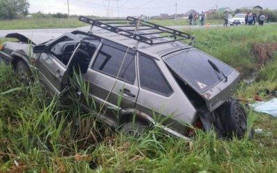 Женщина погибла в ДТП по вине пьяного пассажира в Тюмени