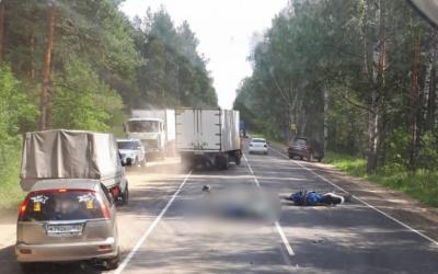 Молодой мотоциклист погиб в ДТП в Нижегородской области