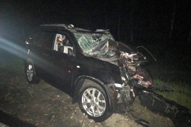 Женщина погибла в ДТП с маршруткой под Брянском (2)