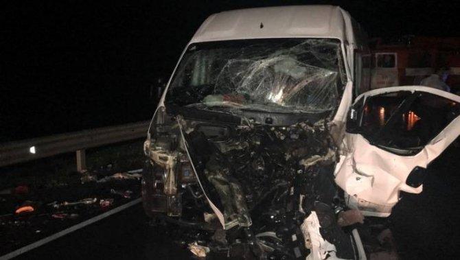 Женщина погибла в ДТП с маршруткой под Брянском (1)