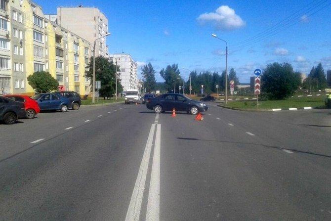 13-летний мотоциклист пострадал в ДТП в Череповце (1)