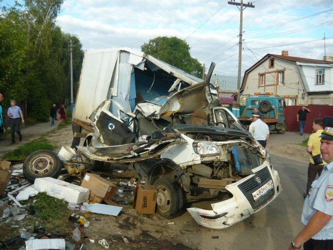 В Арзамасе по вине пьяного водителя погибла женщина (1)