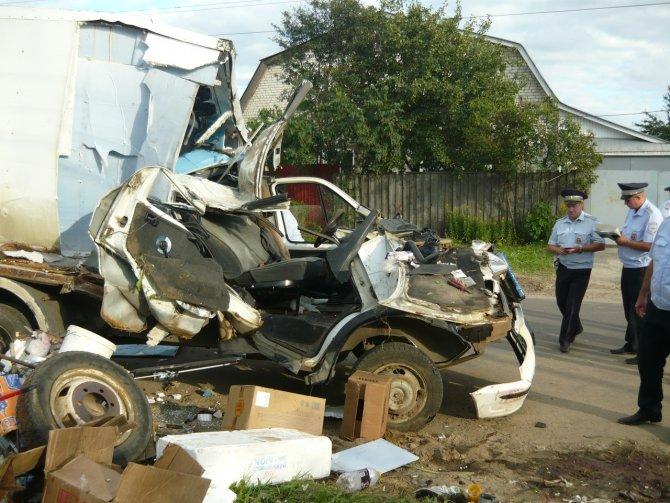 В Арзамасе по вине пьяного водителя погибла женщина (3)