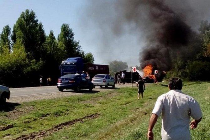 Двое взрослых и подросток погибли в ДТП на Кубани 3