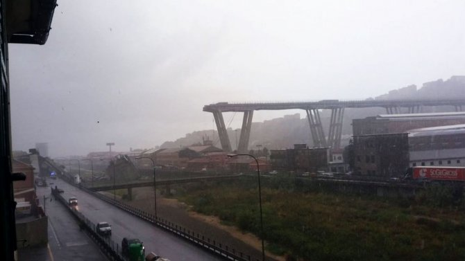 Мост Моранди ЧП