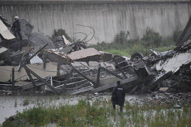 Мост Моранди, Италия, обрушение 1
