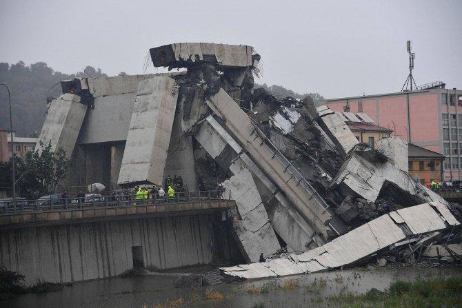 Мост Моранди, Италия, обрушение 4