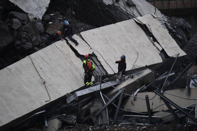 Мост Моранди, Италия, обрушение 5