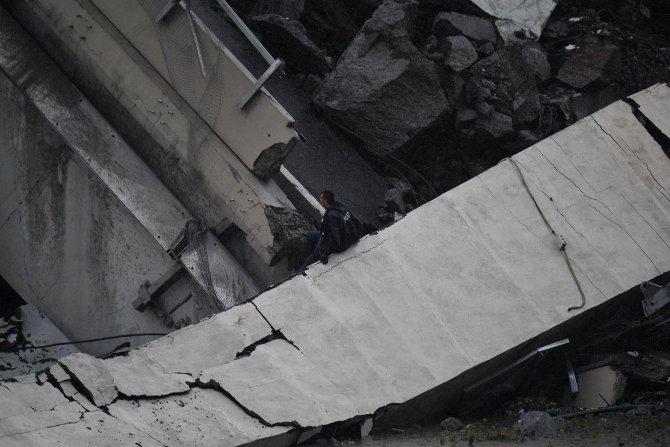 Мост Моранди, Италия, обрушение 6